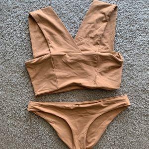 L*space Parker bikini top and Sandy bikini bottom